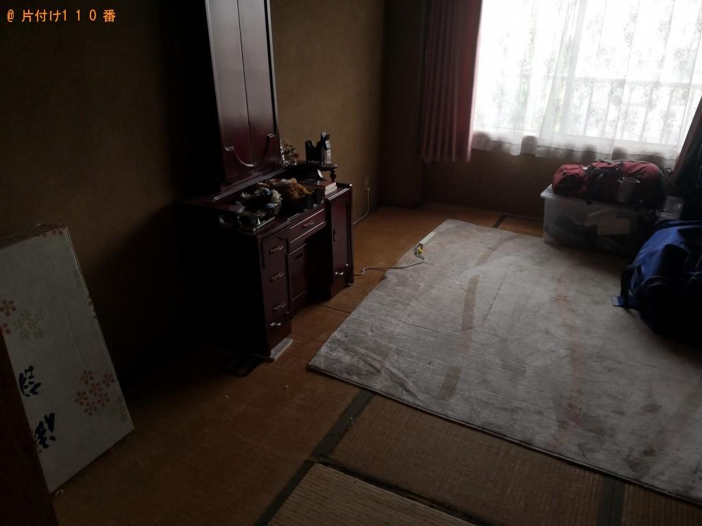 【四條畷市美田町】整理タンスの回収・処分 お客様の声