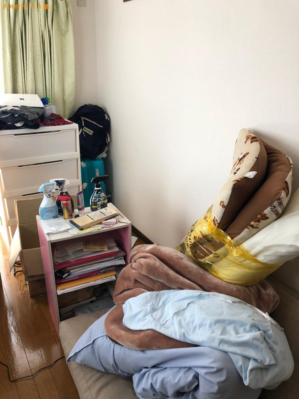 【岡山市北区】シングルベッド枠のみの出張不用品回収・処分ご依頼