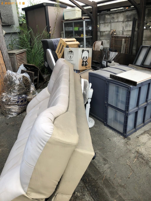 【大津市】食器棚など大型家具の出張不用品回収・処分ご依頼