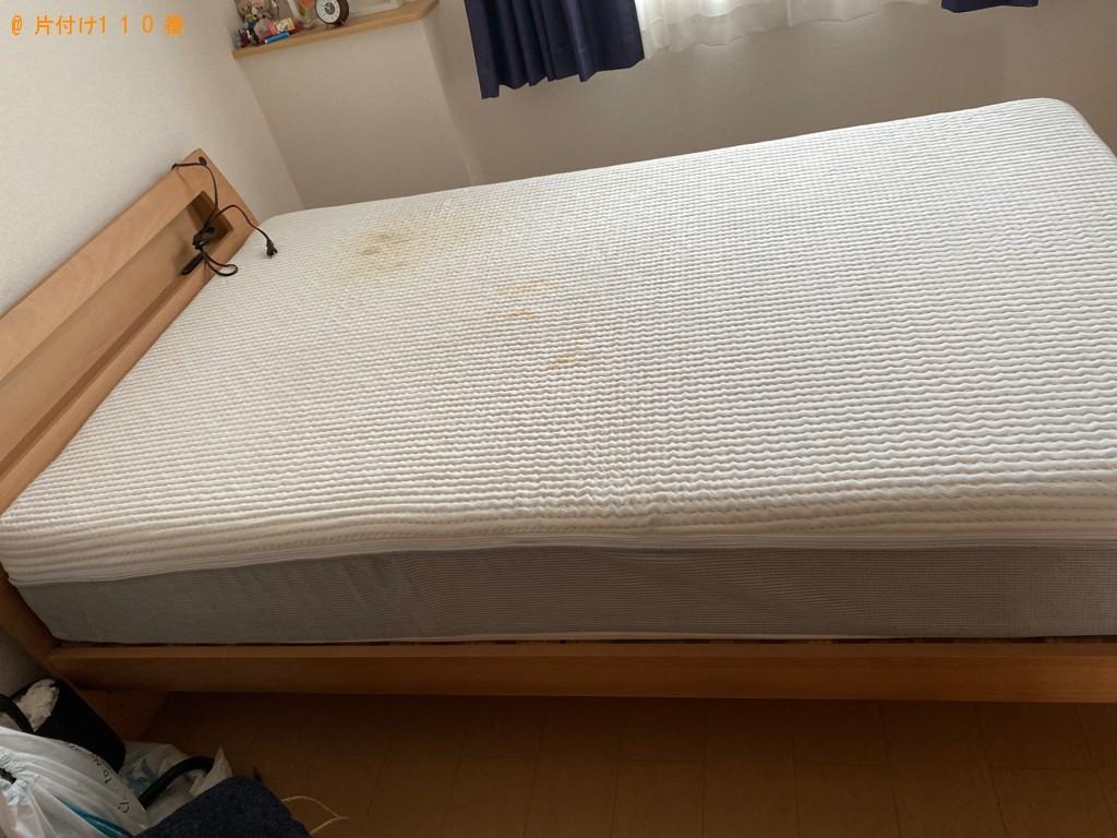 【真庭市】ソファーやセミダブルベッドの出張不用品回収・処分ご依頼
