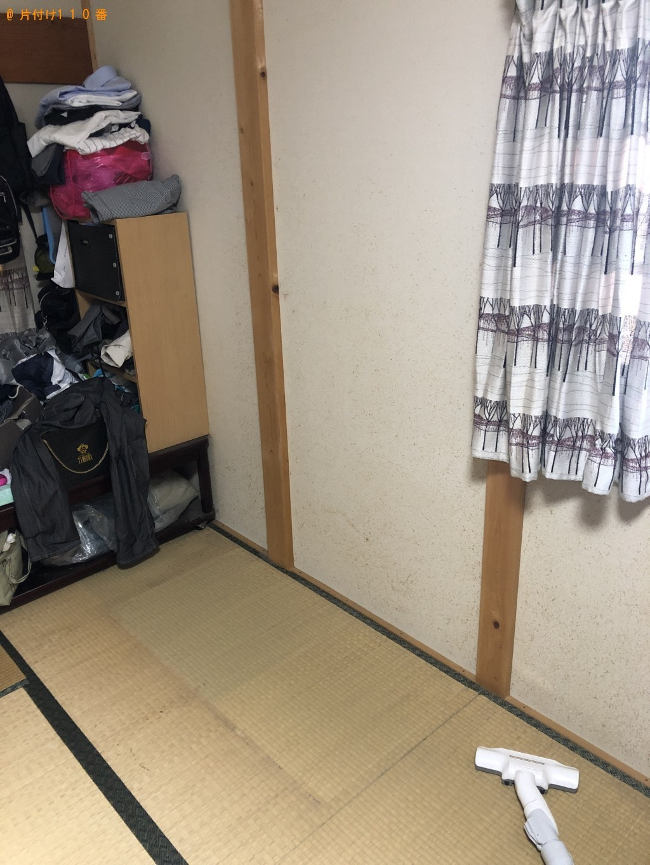 【京都市右京区】軽トラック1杯以内の出張不用品回収・処分ご依頼