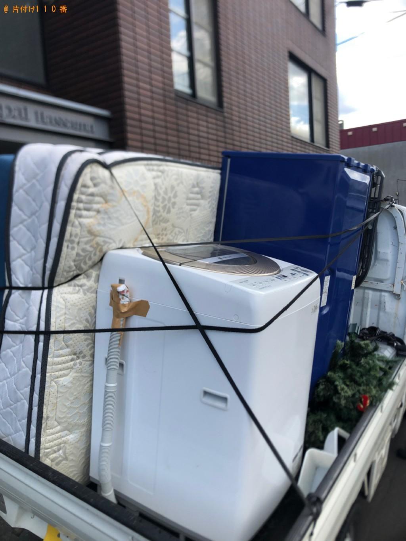 【札幌市西区】軽トラック1杯以内の出張不用品回収・処分ご依頼