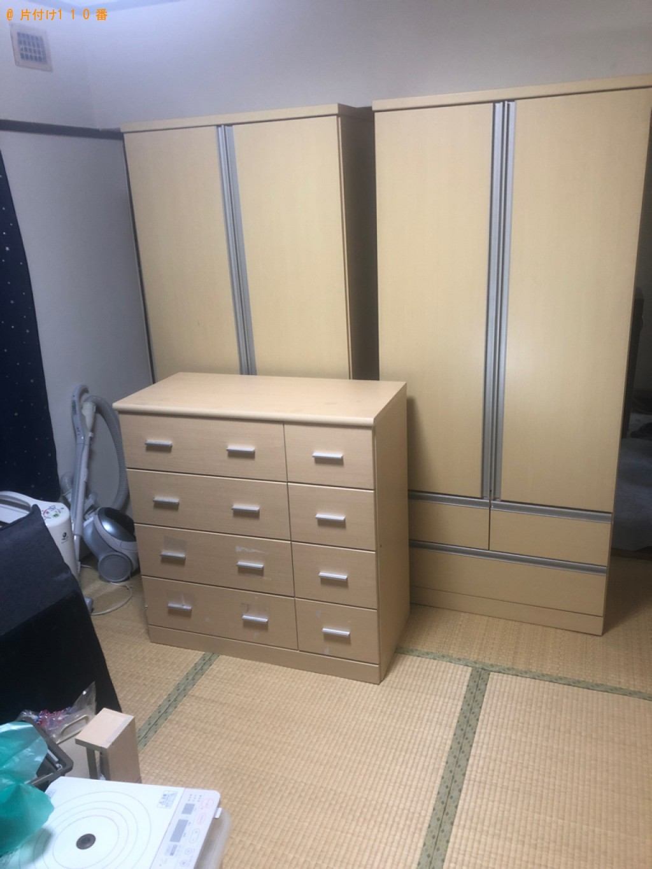 【周南市】家具などの出張不用品回収・処分ご依頼 お客様の声