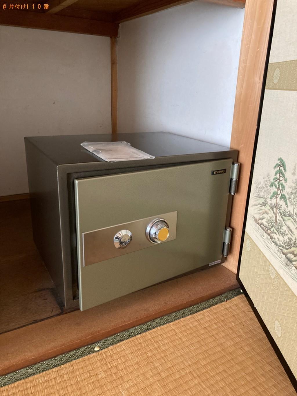 【西脇市和田町】金庫の出張不用品回収・処分ご依頼のお客様の声