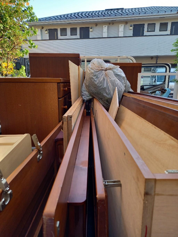 【杉並区】軽トラック1杯以内の出張不用品回収・処分ご依頼