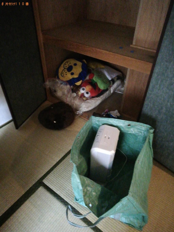 【京都市右京区】軽トラパックでの出張不用品回収・処分ご依頼