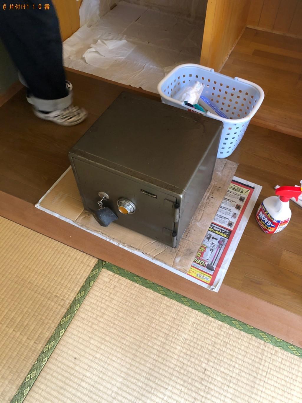 【甲賀市水口町】金庫の出張不用品回収・処分ご依頼のお客様の声