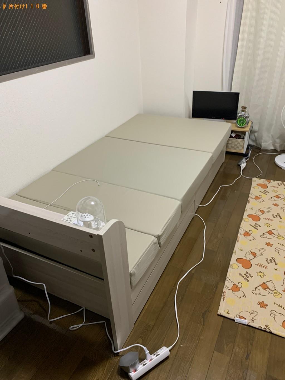 【福岡市東区】セミダブルマットレスの出張不用品回収・処分ご依頼