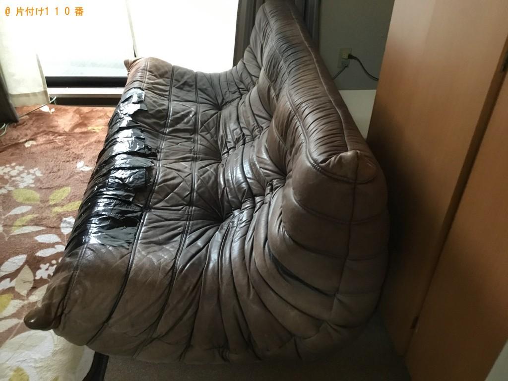 【神戸市灘区】ソファーの出張不用品回収・処分ご依頼 お客様の声