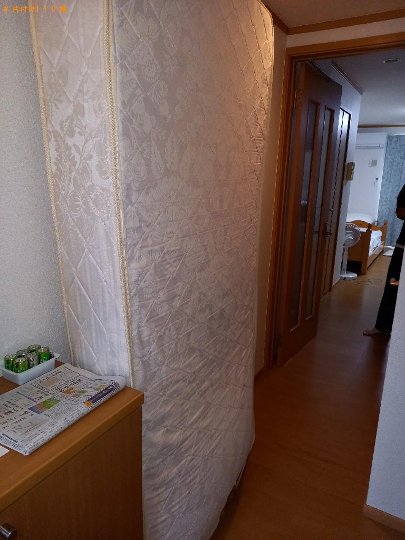 【千葉市稲毛区】ベッドマットレスの出張不用品回収・処分ご依頼