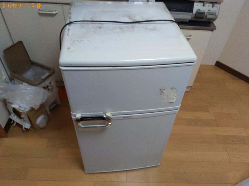 【門真市】170L未満冷蔵庫の出張不用品回収・処分ご依頼