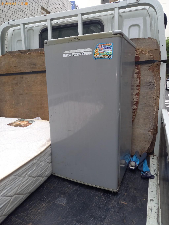 【船橋市本町】170L未満冷蔵庫の出張不用品回収・処分ご依頼