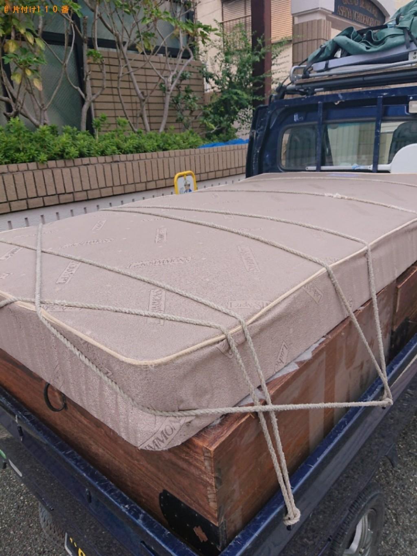 【芦屋市打出小槌町】ベッド枠のみの出張不用品回収・処分ご依頼