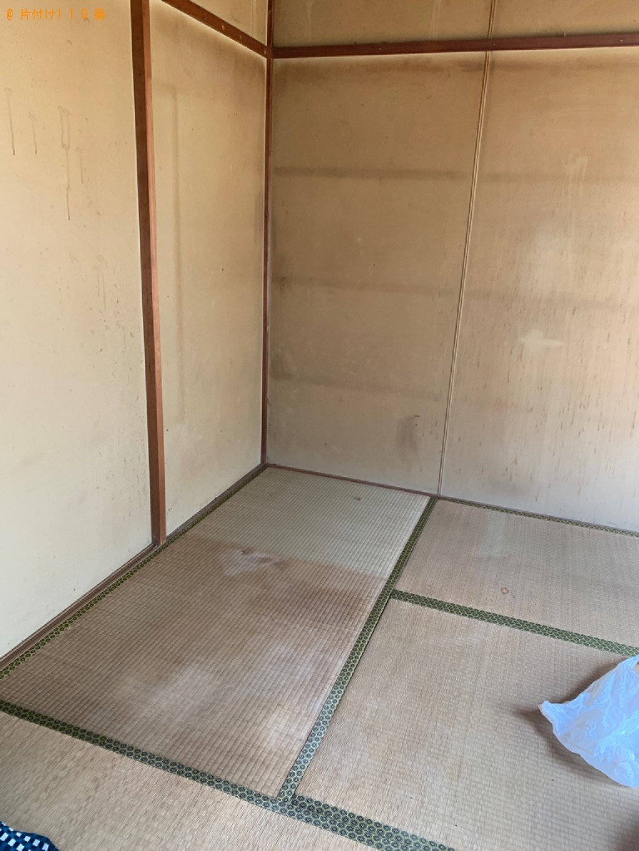 【福岡市西区】2tトラックパックでの出張不用品回収・処分ご依頼