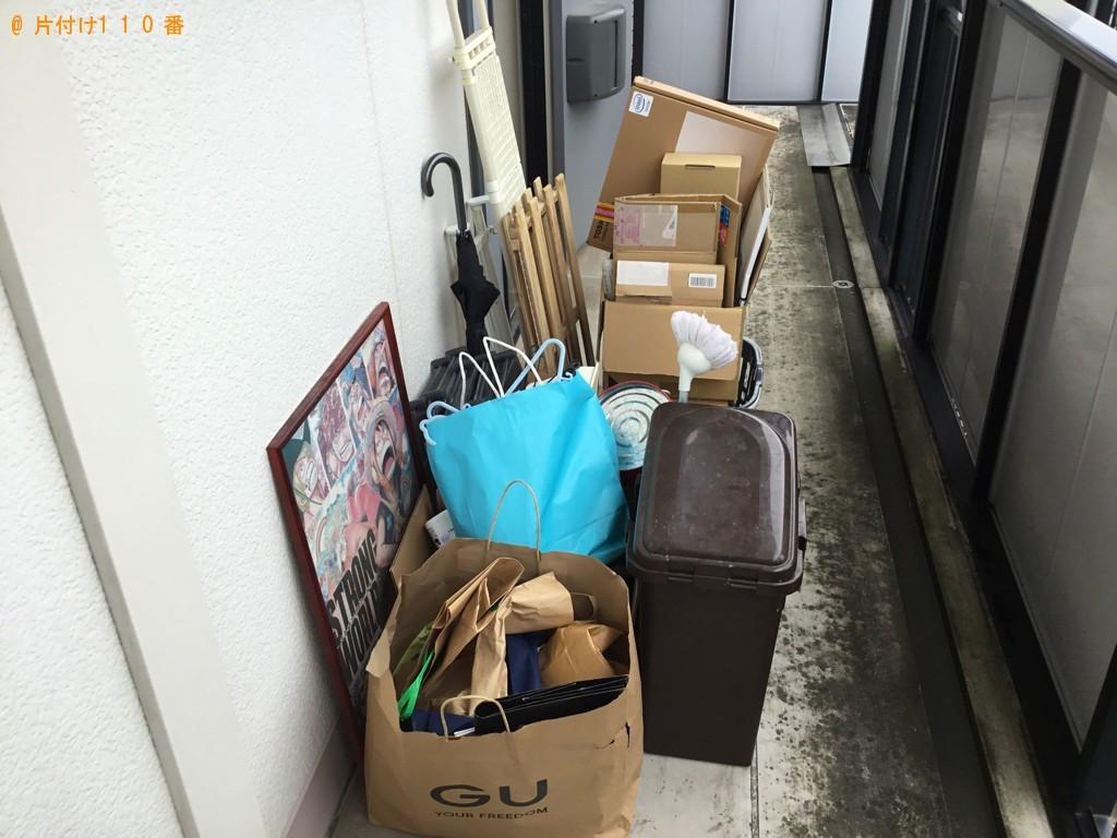 【加古川市尾上町】軽トラパックでの出張不用品回収・処分ご依頼