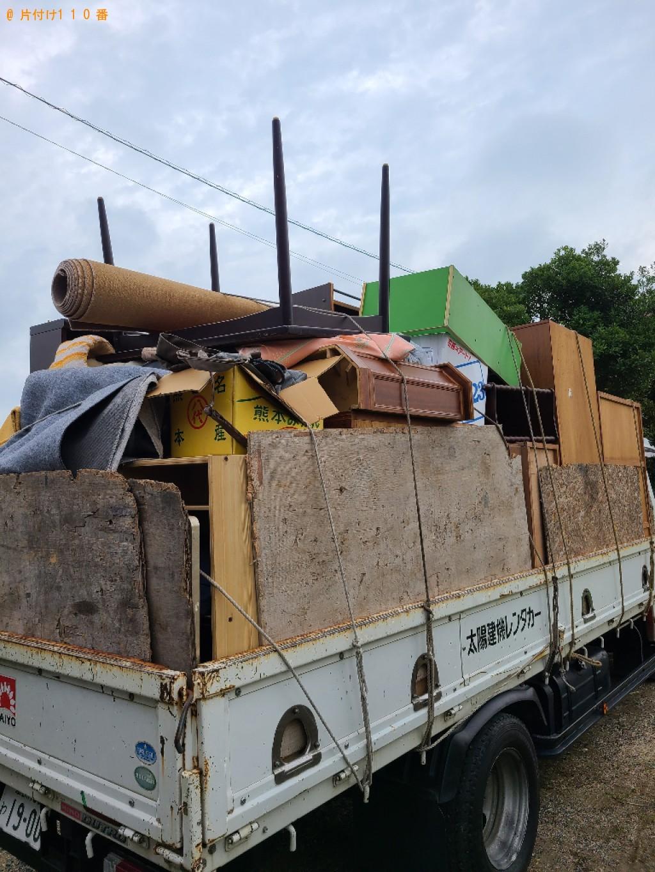 【山口市】2tトラックパックでの出張不用品回収・処分ご依頼