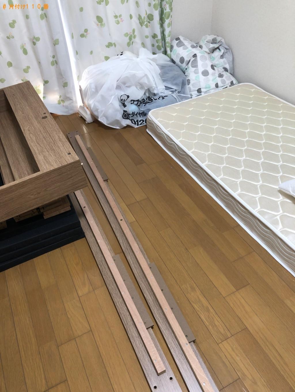 【草津市】シングルベッドの出張不用品回収・処分ご依頼 お客様の声