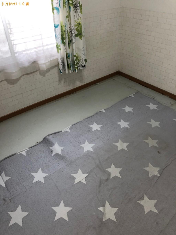 【京都市西京区】シングルベッドの出張不用品回収・処分ご依頼