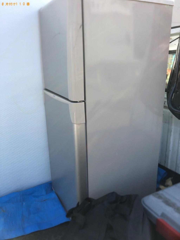 【札幌市東区】170L未満冷蔵庫の出張不用品回収・処分ご依頼