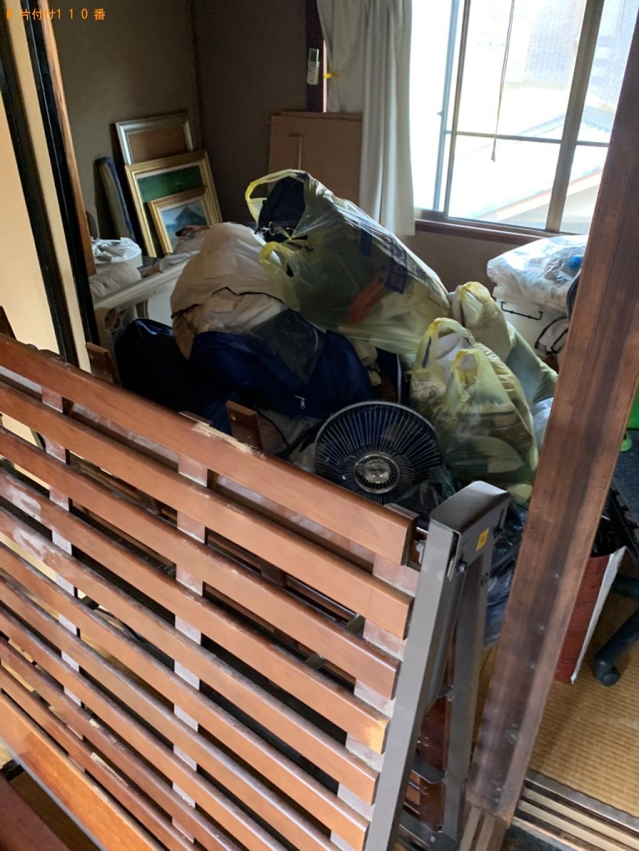 【京都市北区】軽トラパックでの出張不用品回収・処分ご依頼