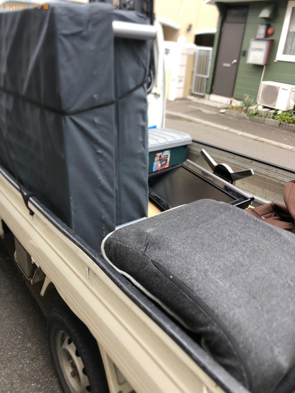 【札幌市豊平区】軽トラック1杯以内の出張不用品回収・処分ご依頼