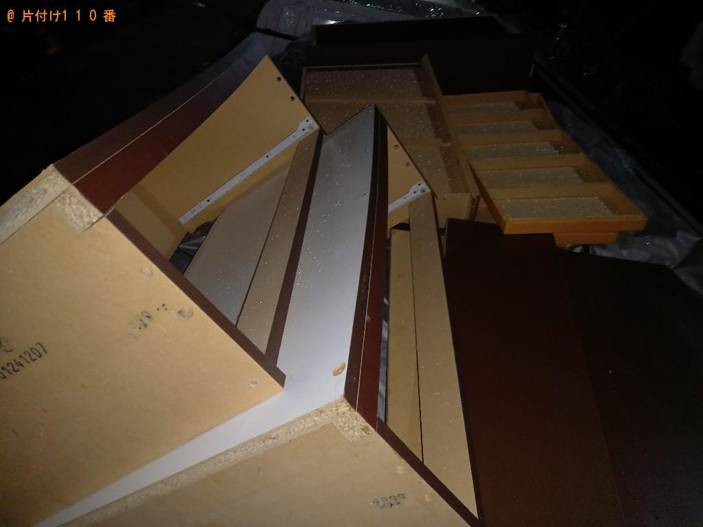 【世田谷区】シングルベッド枠のみの出張不用品回収・処分ご依頼