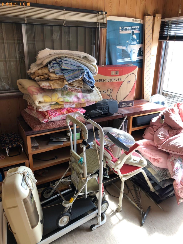 【行橋市】積みホーダイパックでの出張不用品回収・処分ご依頼