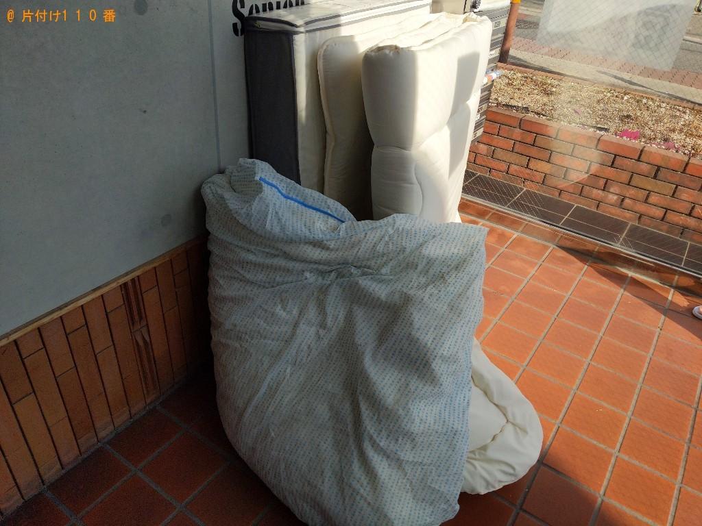 【大阪市旭区】ベッドマットレスなどの出張不用品回収・処分ご依頼