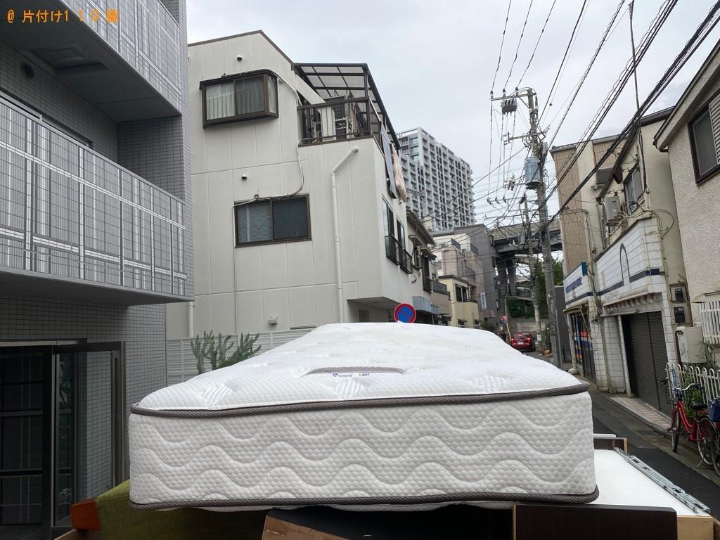 【品川区】シングルベッドの出張不用品回収・処分ご依頼 お客様の声