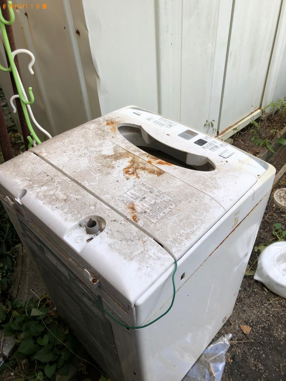 【北九州市八幡西区】洗濯機の出張不用品回収・処分ご依頼お客様の声