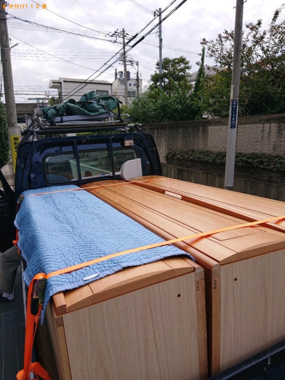 【神戸市東灘区】軽トラック1杯以内の出張不用品回収・処分ご依頼