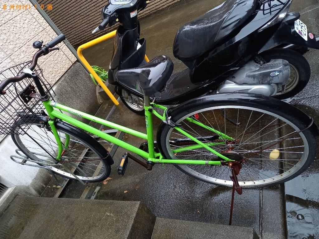 【川崎市多摩区】自転車の出張不用品回収・処分ご依頼 お客様の声