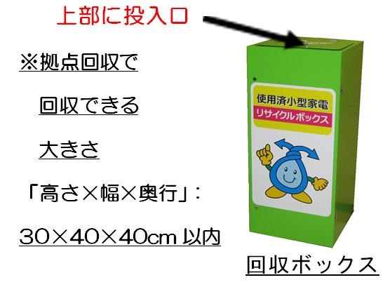 京都市|小型家電回収ボックス