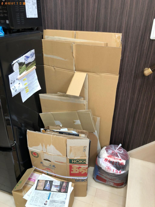 【福岡市西区】軽トラック1杯以内の出張不用品回収・処分ご依頼