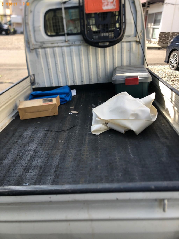 【札幌市南区】軽トラック1杯以内の出張不用品回収・処分ご依頼