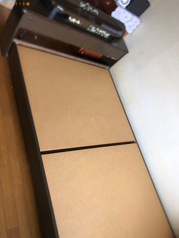 【札幌市北区】セミダブルベッドの出張不用品回収・処分ご依頼