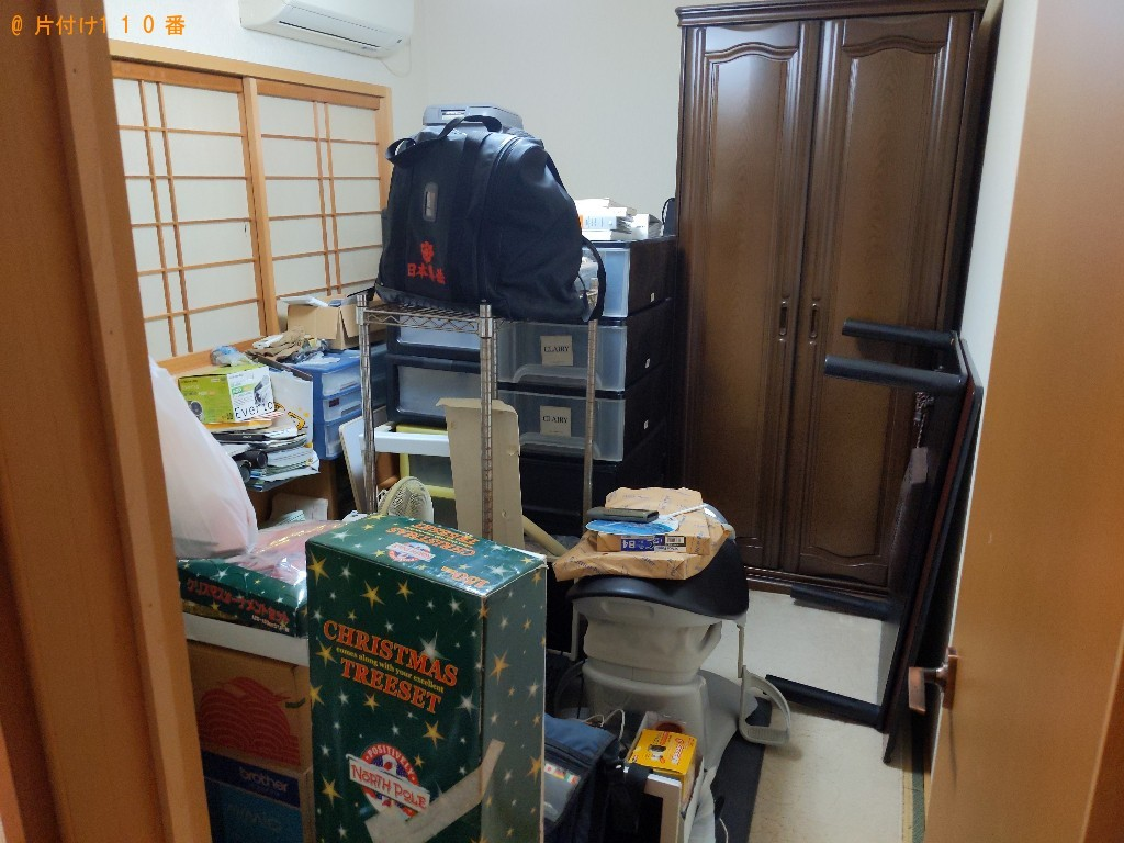 【大阪市東淀川区】軽トラック1杯以内の出張不用品回収・処分ご依頼