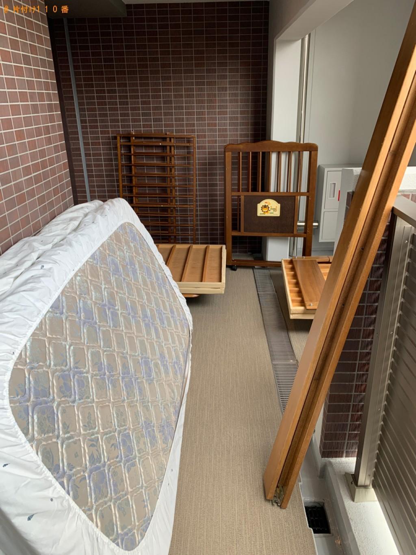 【福岡市早良区】シングルベッドの出張不用品回収・処分ご依頼