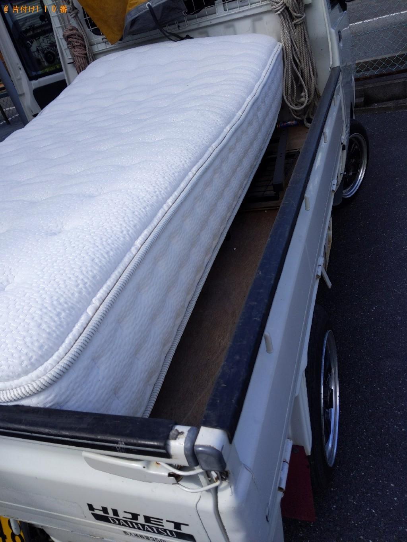 【野洲市】シングルベッドの出張不用品回収・処分ご依頼 お客様の声