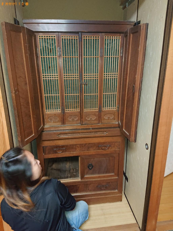 【神戸市北区】仏壇の出張不用品回収・処分ご依頼 お客様の声