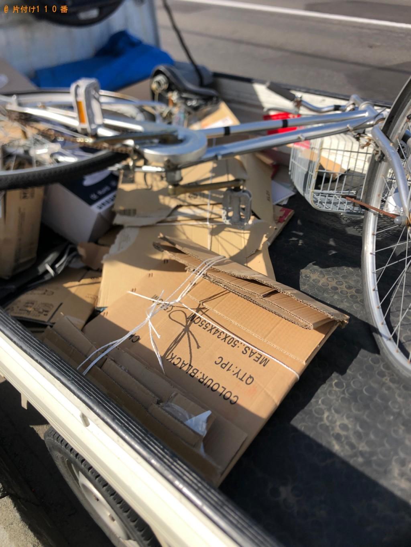 【札幌市豊平区】自転車の出張不用品回収・処分ご依頼 お客様の声