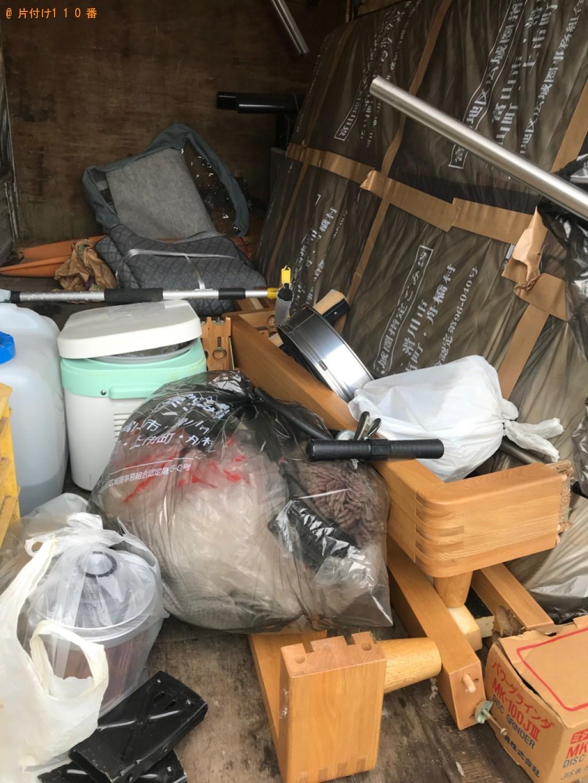 【富山市布目南町】2tトラパックでの出張不用品回収・処分ご依頼