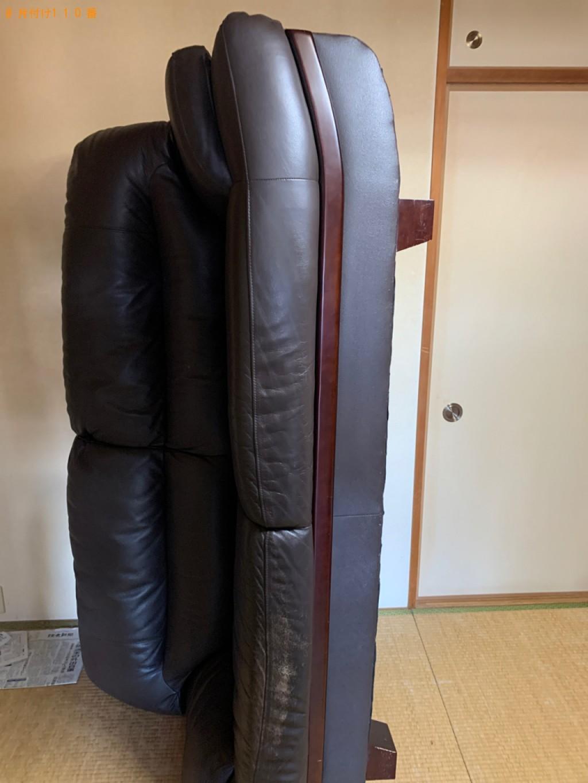 【京都市山科区】ソファーの出張不用品回収・処分ご依頼 お客様の声