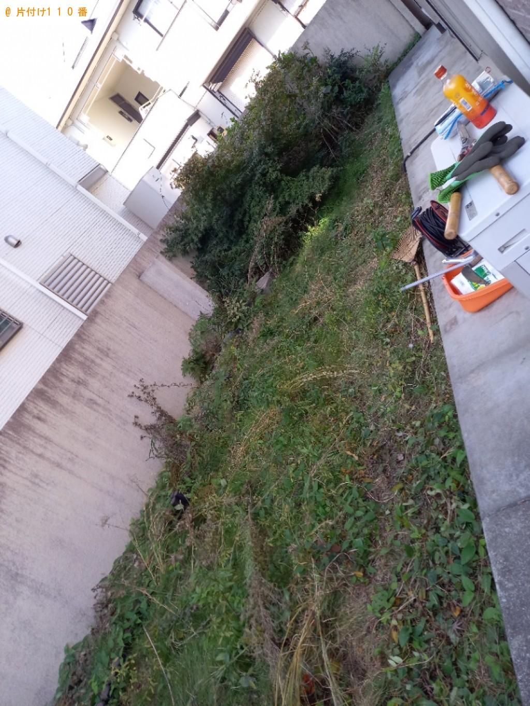 【蕨市北町】草刈り作業のご依頼