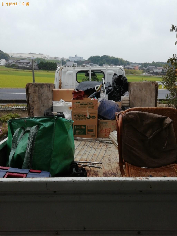 【甲賀市水口町】軽トラック1杯以内の出張不用品回収・処分ご依頼