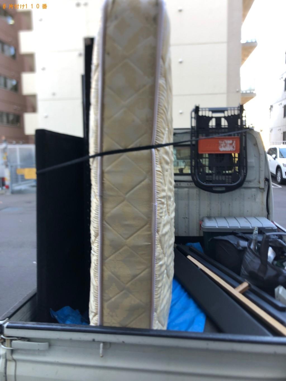 【札幌市西区】ダブルベッドの出張不用品回収・処分ご依頼お客様の声