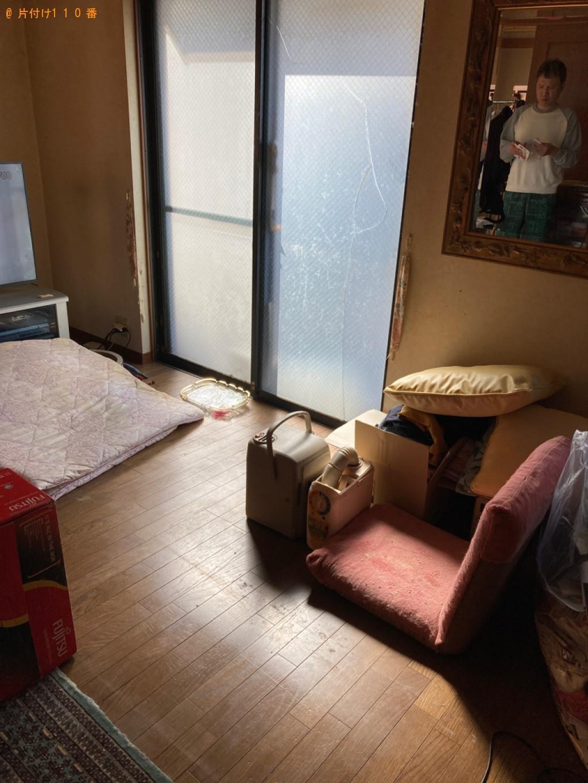 【宇部市東新川町】家具類の出張不用品回収・処分ご依頼 お客様の声