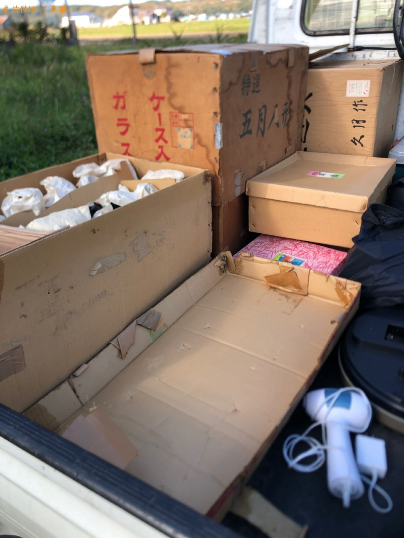 【当別町】軽トラック1杯以内の出張不用品回収・処分ご依頼
