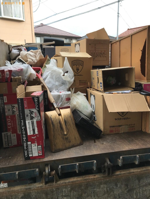 【白山市宮保町】トラックパックでの出張不用品回収・処分ご依頼