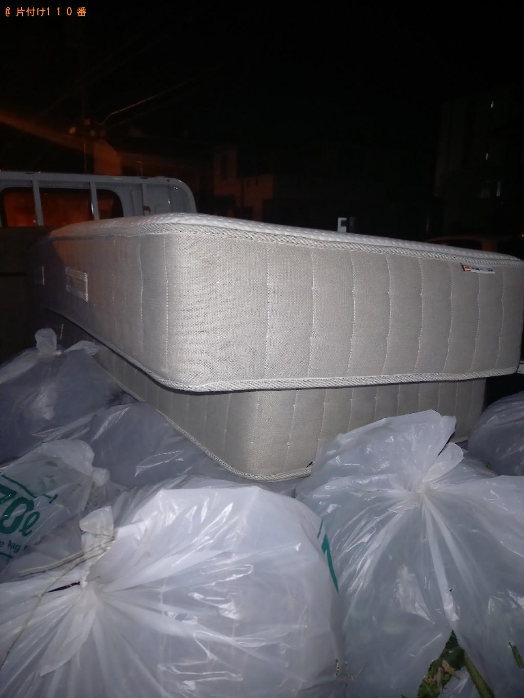 【船橋市上山町】ベッドマットレスの出張不用品回収・処分ご依頼